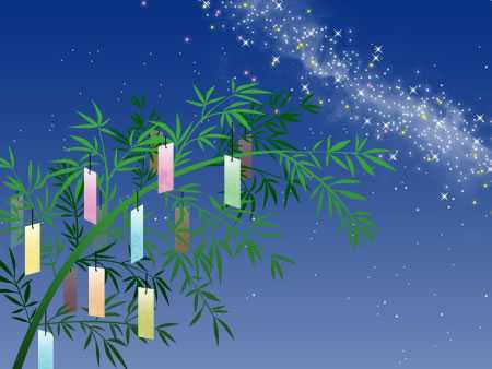 Tanabata 七夕 2016 wikipedia - children and families all over Japan